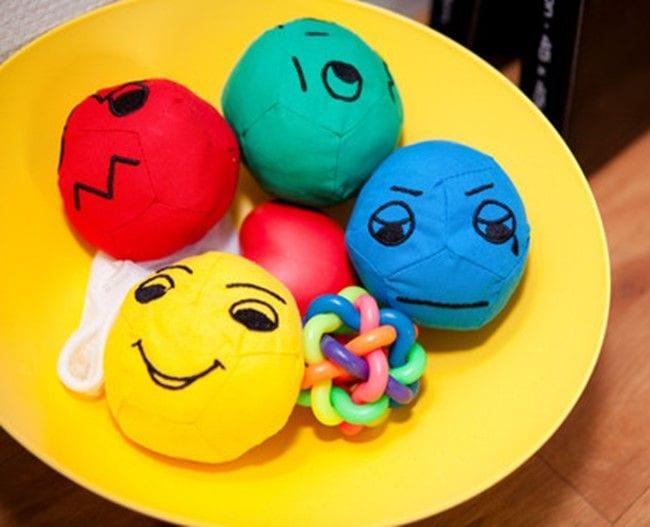 skål med bolde